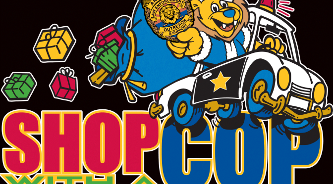 Will you help sponsor 1 child for Shop with a Cop for $100.00 ?  See how!